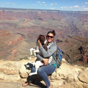 Jill and Zea_Grand Canyon