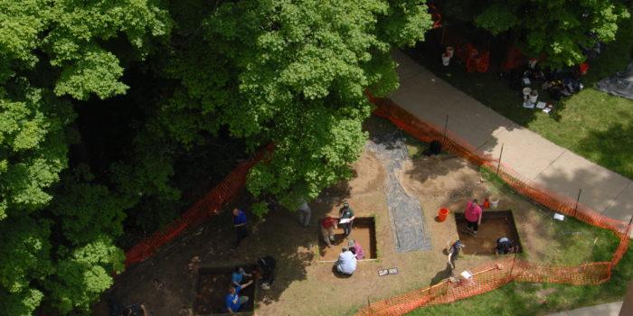 Campus Archaeology Program (CAP) Field School 2019